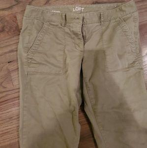Loft relaxed skinnt pants